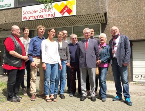 Soziale Stadt Wattenscheid Städtebauförderung Gesunde Stadt Wattenscheid (c) SPD-Ratsfraktion Bochum, 2016
