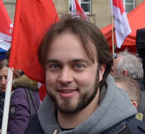Ratsmitglied Bastian Hartmann