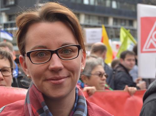 Ratsmitglied Deborah Steffens