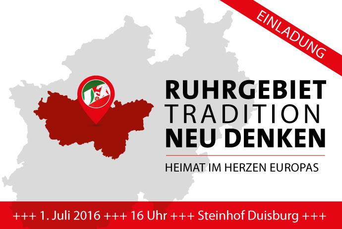 Ruhrgebiet: Tradition neu denken (Heimat im Herzen Europas)