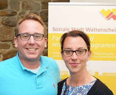 Bochum: Bei der Stadtteilkonferenz in der Alten Kirche in Wattenscheid am Montag (4. Juli 2016) haben sich Bürgerinnen und Bürger über die Projekte der Sozialen Stadt informiert. An der Konferenz nahmen auch die Ratsmitglieder Burkart Jentsch und Deborah Steffens teil.