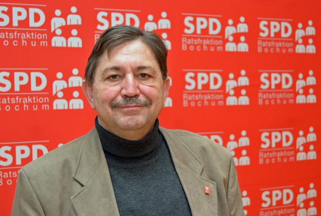 Klaus Hemmerling ist Sprecher der SPD im Ausschuss für Umwelt, Sicherheit und Ordnung.
