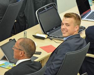 Jonathan Ströttchen ist Mitglied der SPD-Ratsfraktion Bochum und Sprecher der SPD im Ausschuss für Schule und Bildung (c) SPD-Ratsfraktion Bochum, 2016