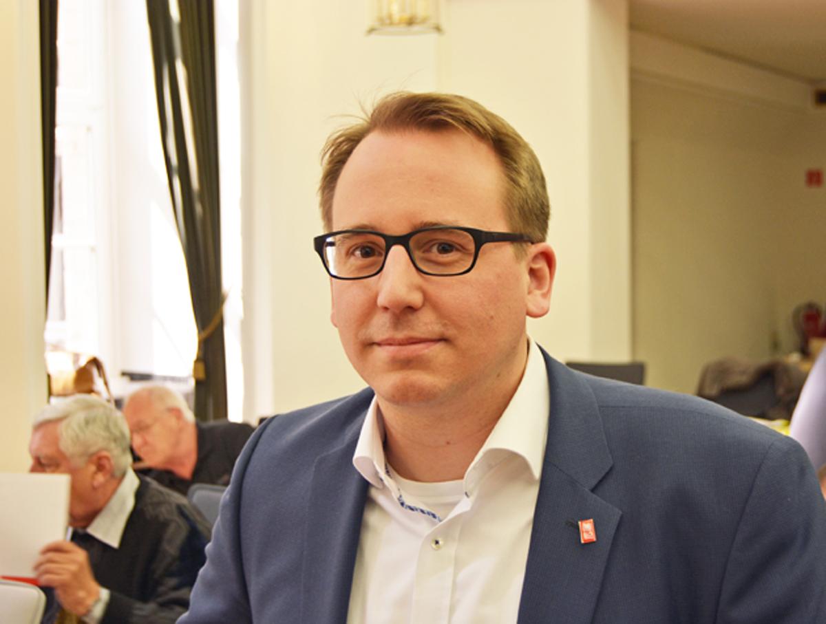 Burkart Jentsch, Mitglied der SPD-Ratsfraktion Bochum, 2016