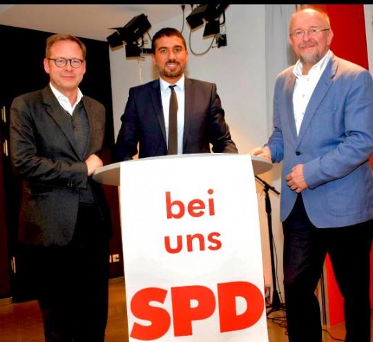 Karsten Rudolph, Serdar Yüksel und Axel Schäfer