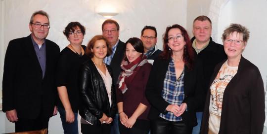 Geschäftsführender Vorstand des SPD-Stadtbezirkes Bochum-Mitte (gewählt am 15.11.2016)