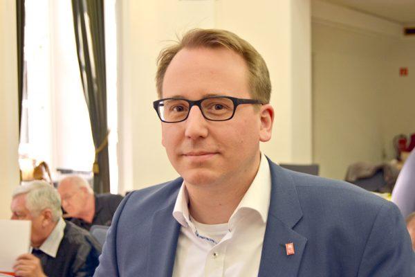 Ratsmitglied Burkart Jentsch