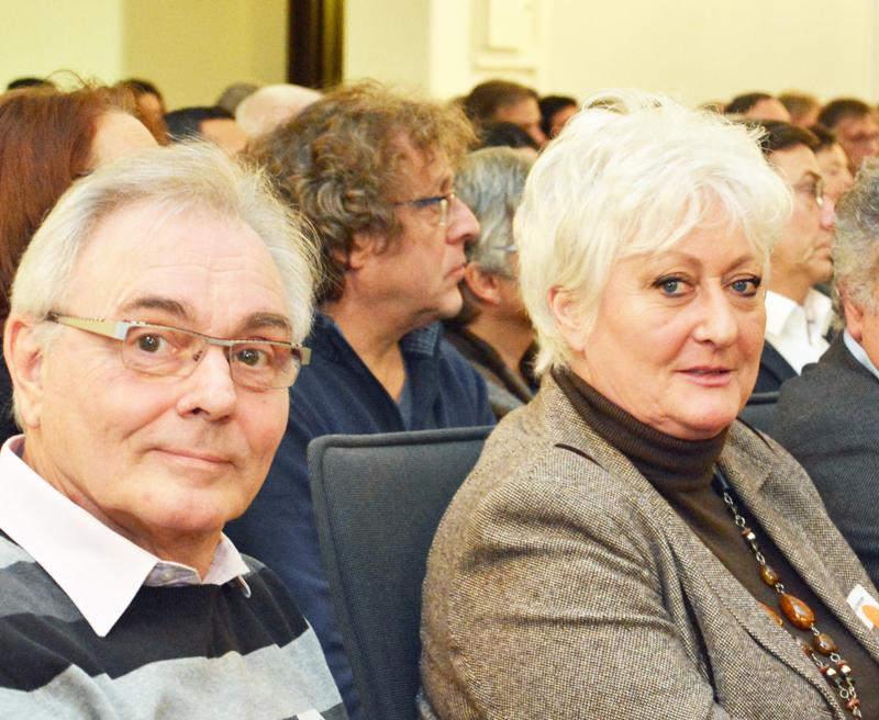 """SPD-Ratsfraktion Bochum: Am """"Integrationsgipfel"""" zum Integrationsplan NRW  nahmen am 17. Januar 2017 im Bochumer Rathaus auch der Wattenscheider Bezirksbürgermeister Manfred Molszich und SPD-Ratsmitglied Christina Knappe teil."""