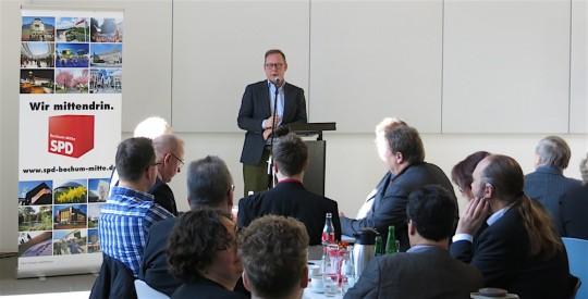 Karsten Rudolph beim Neujahrsempfang SPD-Bochum Stadtbezirk BO-Mitte 2017