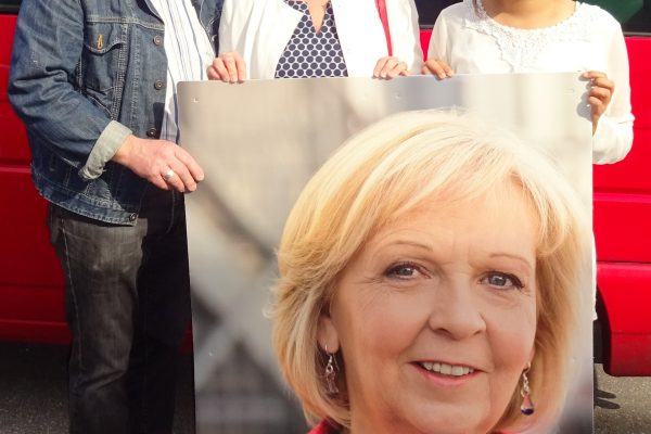 Helmut Breitkopf (seit 50 Jahren SPD-Mitglied), Carina Gödecke (Landtagspräsidentin) und Narin Arslan (18 Jahre, Jurastudentin, seit 2016 Juso-Mitglied) - #NRWIR #NRWwahlBO #ltnrw17 #ltwnrw17