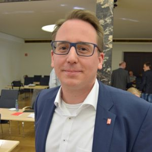 SPD-Ratsmitglied Burkart Jentsch