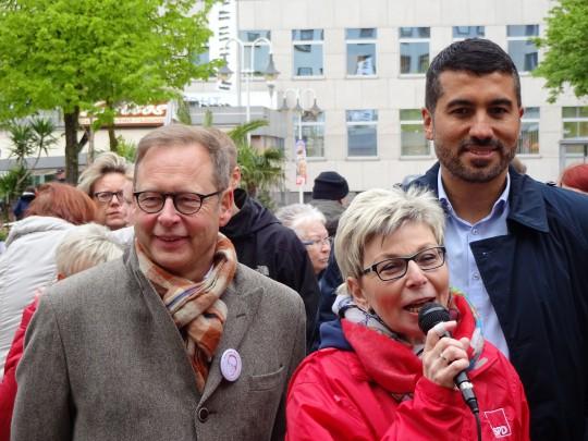 Drei für Bochum: Karsten Rudolph, Carina Gödecke und Serdar Yüksel #ltwnrw #NRWwahlBO