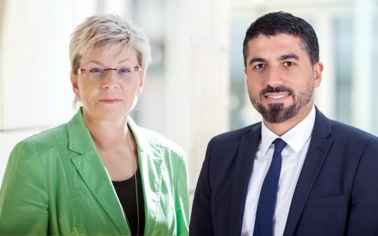 Carina Gödecke und Serdar Yüksel