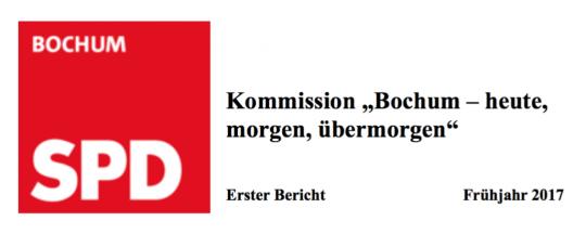 SPD Bochum Kommission Bochum - heute, morgen, uebermorgen