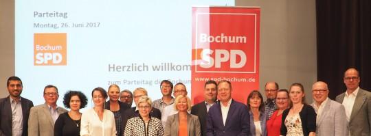 Vorstand der SPD Bochum (gewählt beim Parteitag am 26. Juni 2017)