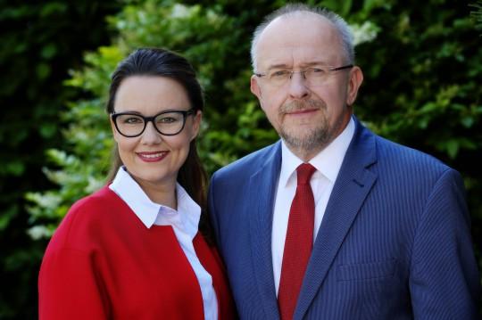 Michelle Müntefering und Axel Schäfer