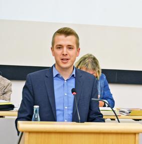 SPD-Ratsfraktion Bochum: Ratsmitglied Jonathan Ströttchen