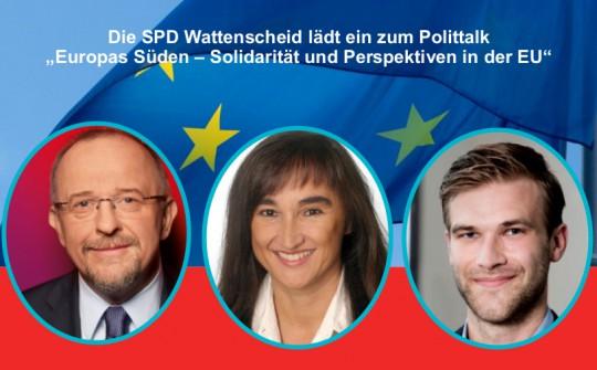"""Polittalk: """"Europas Süden – Solidarität und Perspektiven in der EU"""""""