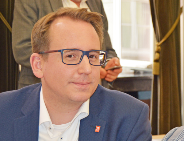 SPD-Ratsfraktion Bochum: Ratsmitglied Burkart Jentsch