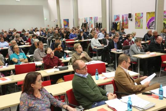 Parteitag der SPD Bochum am 27.11.2017: Die Delegierten