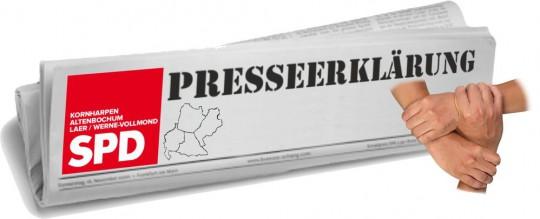 Presseerklärung: SPD Kornharpen, Altenbochum Laer/Werne-Vollmond