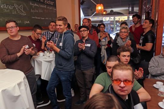 SPD Bochum Neumitgliedertreffen: Blick in's Zacher