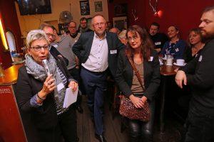 SPD Bochum Neumitgliedertreffen: 1. Vizepräsidentin des Landtages, Carina Gödecke, bei der Begrüßung
