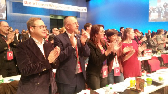 SPD Bochum auf dem Bundesparteitag 2017 in Berlin #spdbpt17