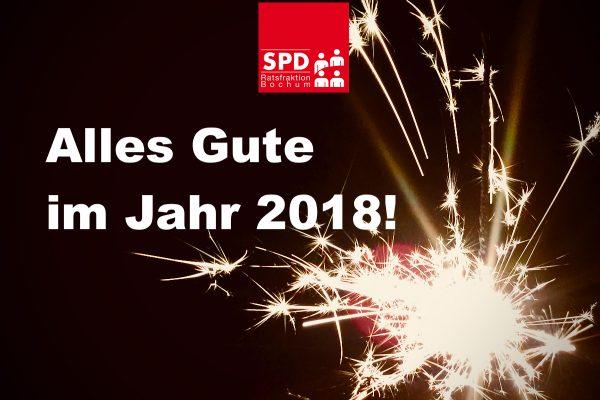 SPD-Ratsfraktion Bochum: Jahreswechsel 2017/18