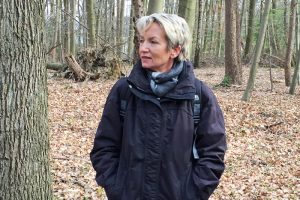 Martina Schmück-Glock freut sich über die Sanierung des Gondelteiches.
