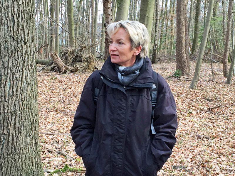 Martina Schmück-Glock, Vorsitzende des Umweltausschusses, hofft, dass die Begrünung des P5 anderen als Vorbild dient.