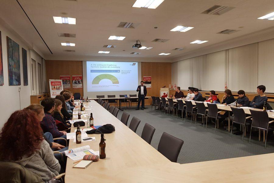 SchülerJusos und DGB-Jugend: Zusammen für gute Ausbildung