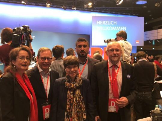 SPD Bochum beim außerordentlichen Bundesparteitag 2018 in Bonn #spdbpt18
