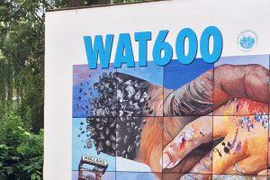 """SPD-Ratsfraktion Bochum: Ausschnitt aus dem Plakat zum Stadtjubiläum """"WAT 600"""" im Jahr 2017."""