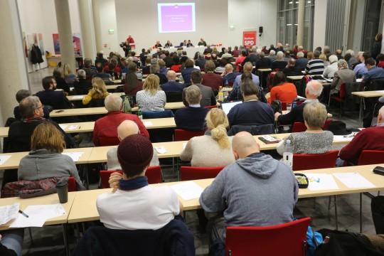 Parteitag der SPD Bochum #spdBOpt am 05.02.2018: Delegierte (Foto: Werner Sure)