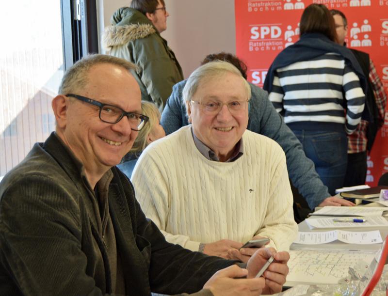 Dr. Hans Hanke (l.) und Dieter Fleskes