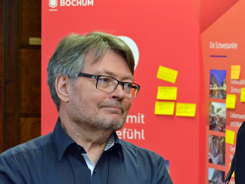 SPD-Ratsfraktion Bochum: Ratsmitglied Peter Herzog / Freibad Werne ist Teil des Integrierten Stadtentwicklungskonzepts.