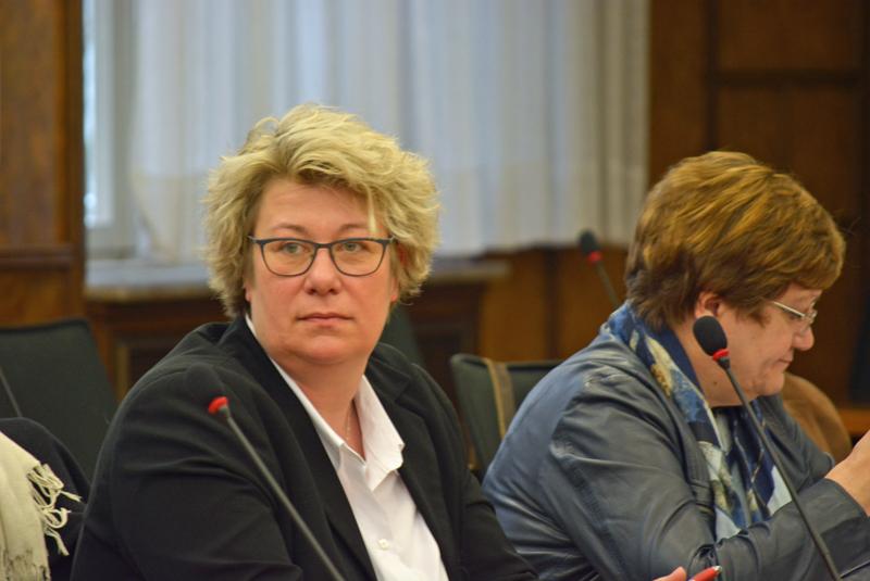 Julia Kahle-Hausmann ist stellvertretende Vorsitzende der SPD im Rat der Stadt Essen.