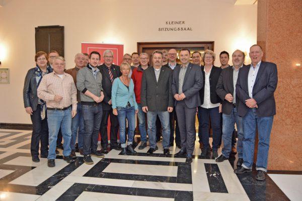 SPD-Ratsfraktion Bochum: Die Runde der SPD-Fraktionsvorsitzenden aus Räten und Kreistagen des Ruhrgebiets fand am 16. März 2018 in Bochum statt.