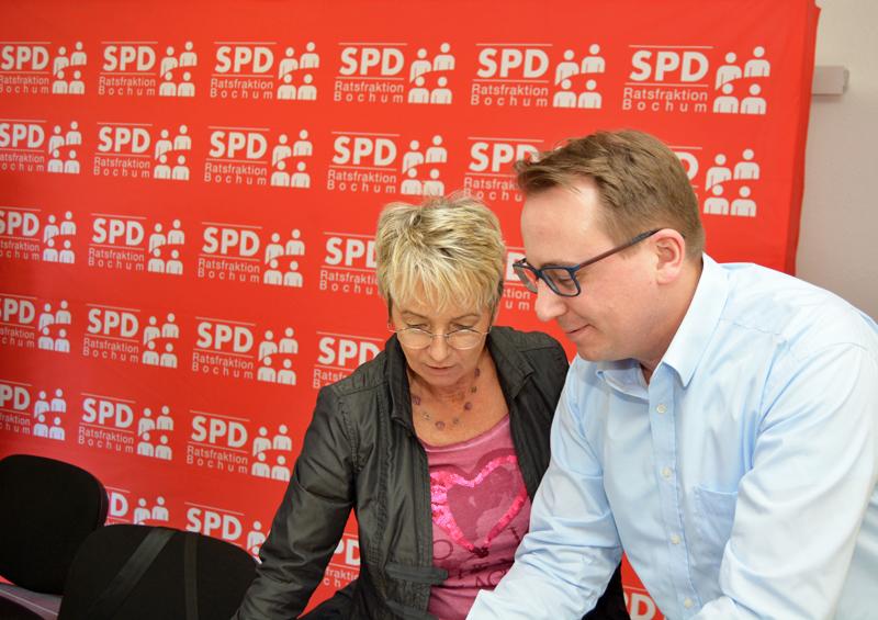 Martina Schmück-Glock und Burkart Jentsch