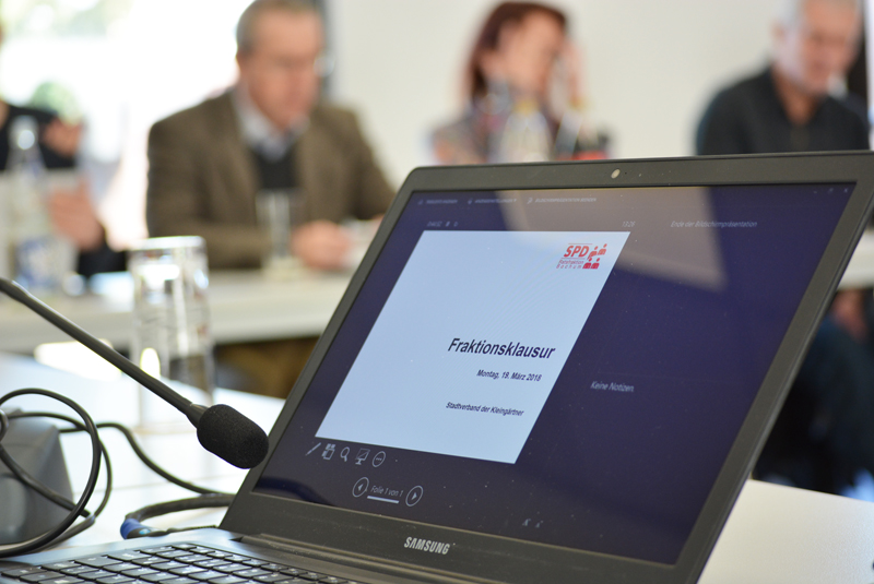 SPD-Ratsfraktion: Klausur