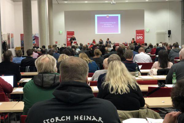 Delegierte und Gäste beim Parteitag der SPD Bochum #spdBOpt