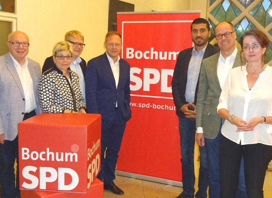Geschäftsführender Vorstand der SPD Bochum (gewählt beim Parteitag am 26. Juni 2017)