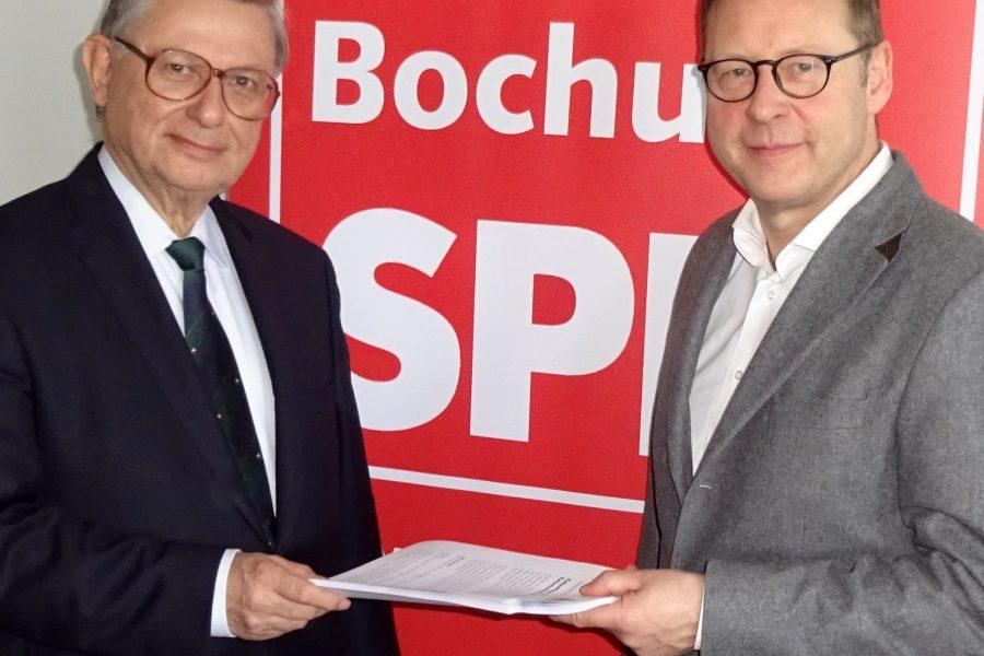 Christoph Zöpel und Karsten Rudolph