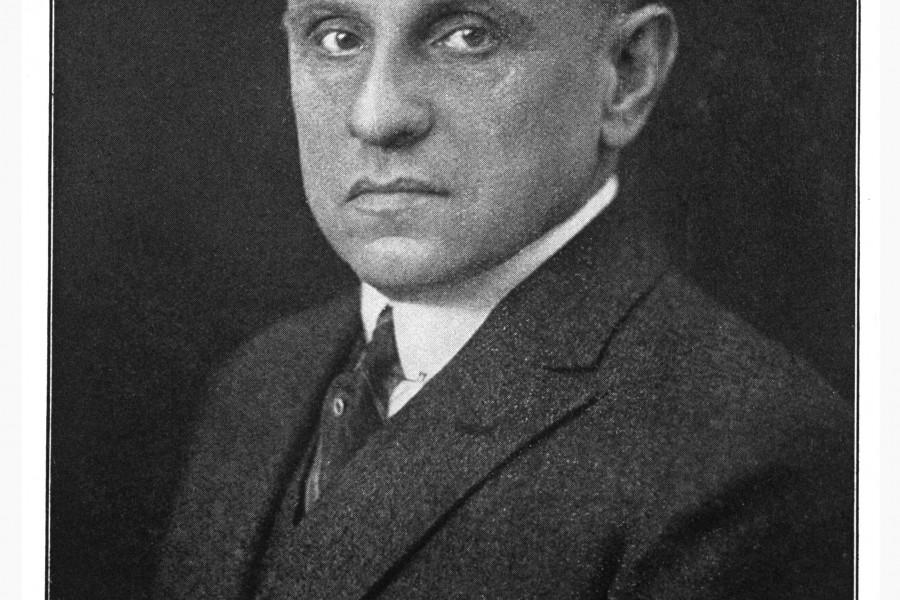 Dr. Otto Ruer - Oberbürgermeister der Stadt Bochum von 1925-1933