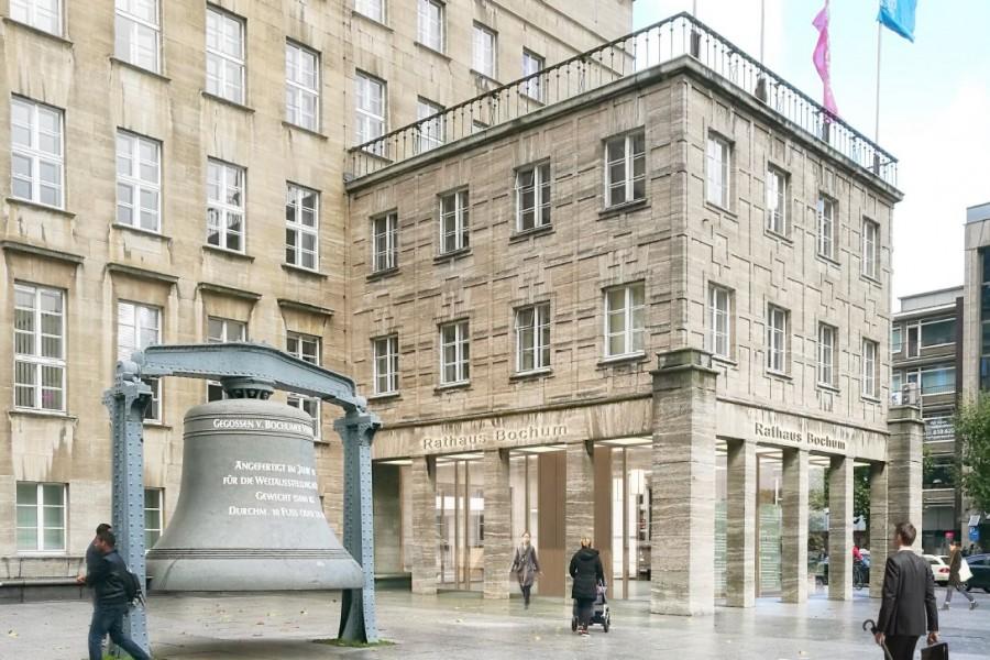 Sanierung Konzept Rathaus Bochum