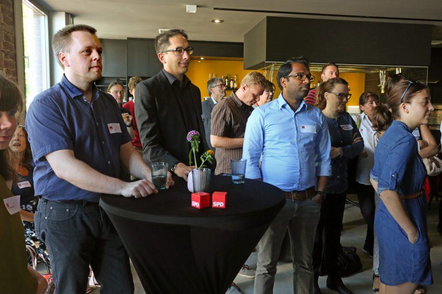 Neumitgliederempfang der SPD Bochum (01.07.2018): Impression
