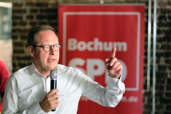Neumitgliederempfang der SPD Bochum (01.07.2018): Karsten Rudolph