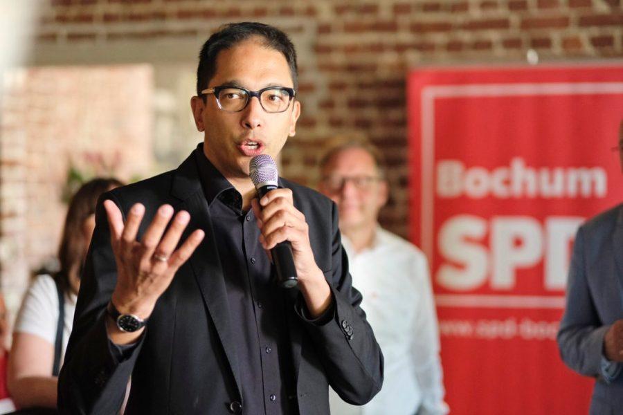 Neumitgliederempfang der SPD Bochum (01.07.2018): Oliver Basu Mallick