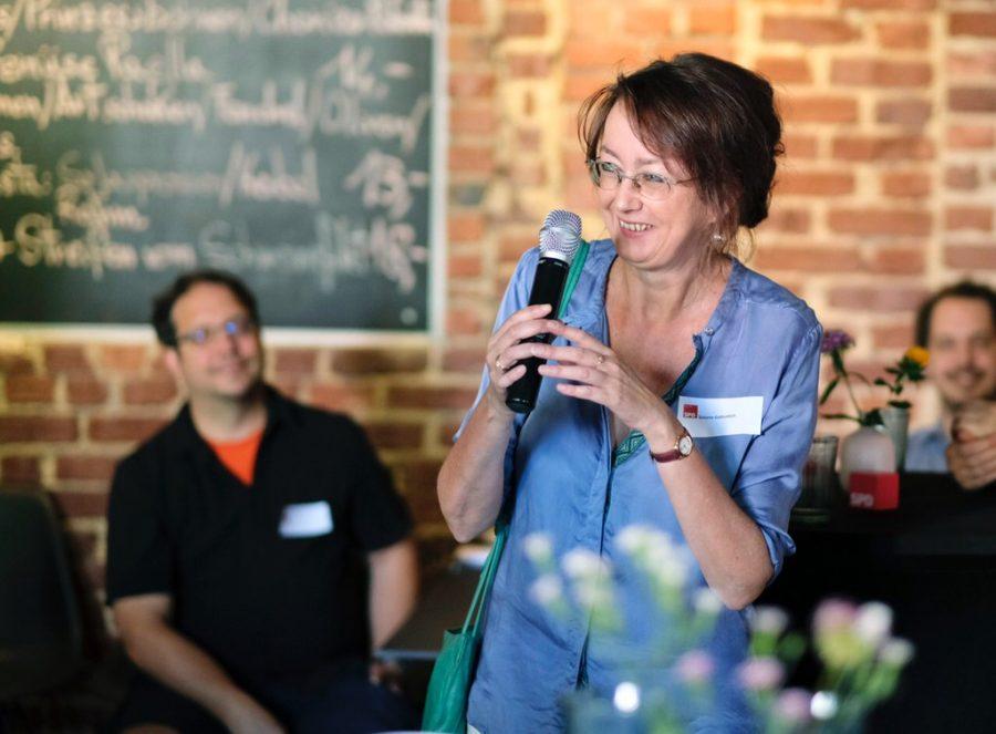 Neumitgliederempfang der SPD Bochum (01.07.2018): Simone Gottschlich